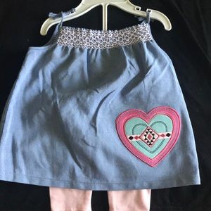 New! Sweet baby girl outfit3 for &15